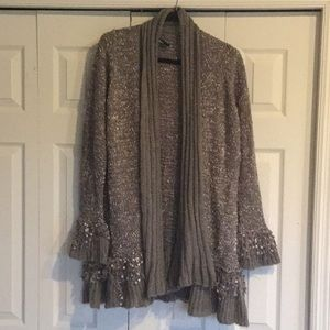 SIoni grey cardigan